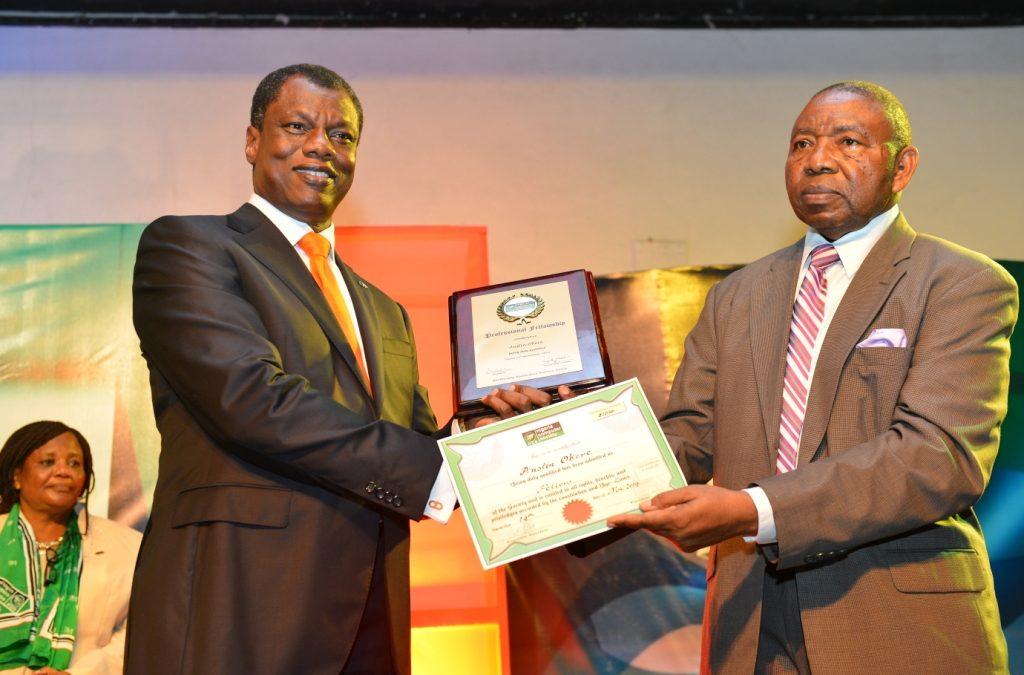 CWG Founder, Austin Okere, Bags NCS Presidential Award