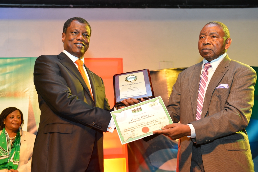 CWG Founder bags NCS IT Personality of the Year Award