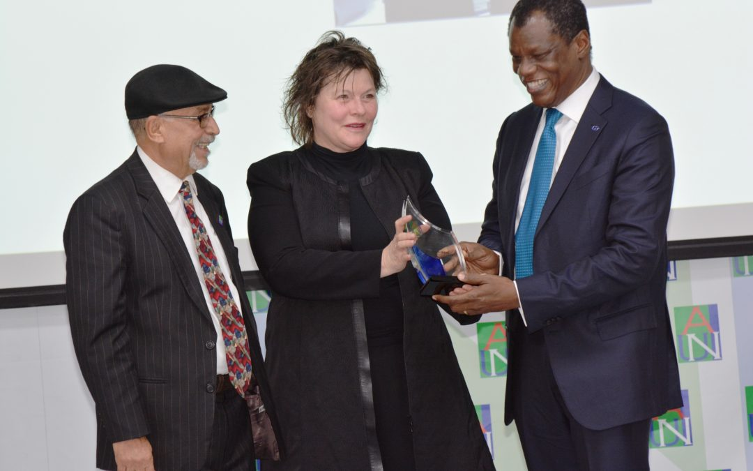 Austin Okere Receives American University of Nigeria Life Time Entrepreneurship Award